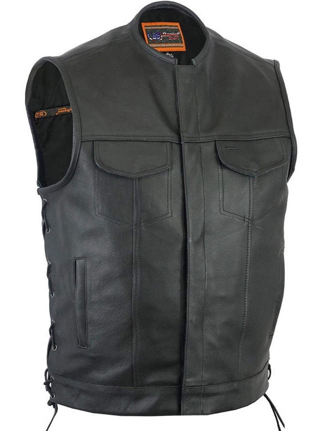 VestGun Pockets Leather Duty Heavy Club sQrCthBdxo